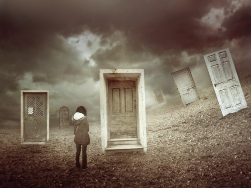 Closed Doors by Amandine Van Ray