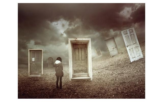 Closed Doors by Amandine van Ray