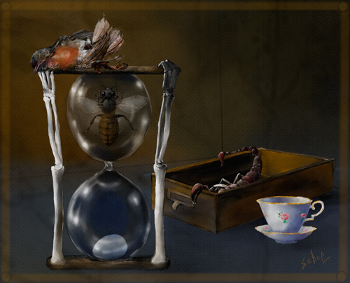 Tea time by Linda Saboe